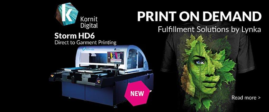 Kornit HD6 - New technology